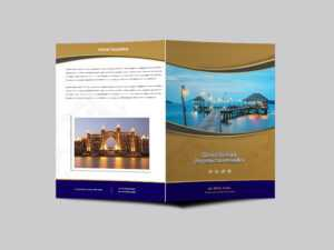 Hotel Resort Bi Fold Brochure Design Templatearun Kumar in Hotel Brochure Design Templates
