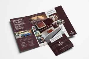 Hotel Tri-Fold Brochure Template V2 – Psd, Ai & Vector throughout Hotel Brochure Design Templates