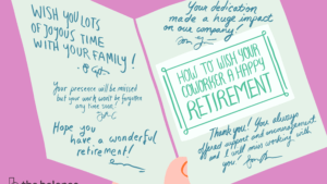 How To Best Wish Your Coworker A Happy Retirement inside Retirement Card Template