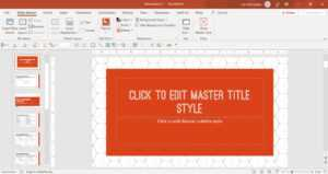 How To Create A Powerpoint Template (Step-By-Step) with How To Edit A Powerpoint Template