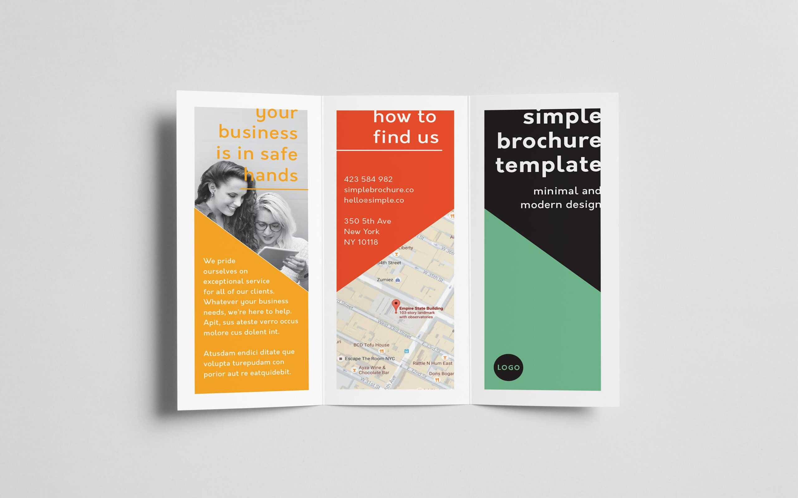 How To Create A Trifold Brochure In Adobe Indesign Intended For Adobe Indesign Tri Fold Brochure Template