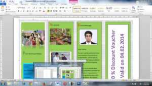 How To Create Brochure Using Microsoft Word Within Few Minutes throughout Brochure Template On Microsoft Word