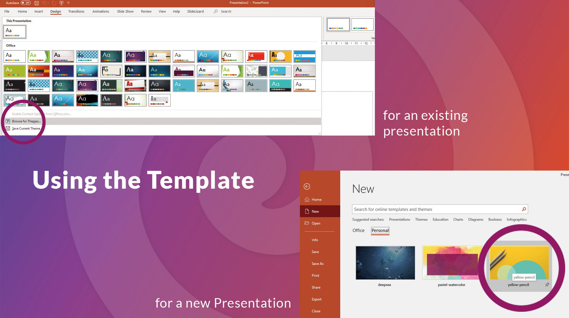 How To Create Your Own Powerpoint Template (2020) | Slidelizard Intended For Where Are Powerpoint Templates Stored