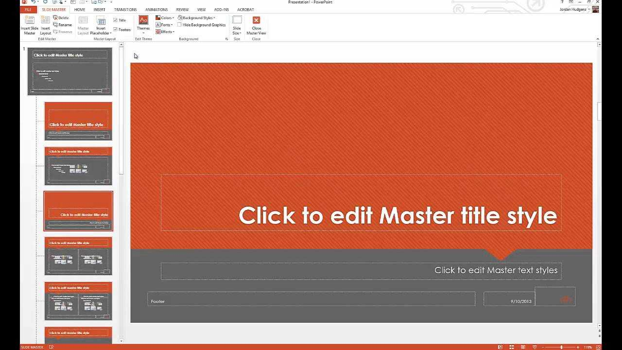 How To Customize Powerpoint Templates In How To Edit A Powerpoint Template