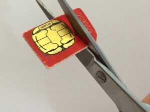 How To Cut Down A Sim Card: Make A Free Nano-Sim For Iphone inside Sim Card Cutter Template