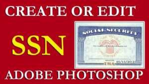 How To Edit Ssn   Ssn Pdf Template Download Free On Vimeo throughout Social Security Card Template Photoshop
