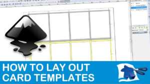 How To Lay Out A Card Template – Dining Table Print & Play with Frequent Diner Card Template