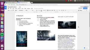 How To Make A Brochure On Google Docs throughout Google Docs Brochure Template