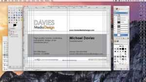 How To Make A Business Card In Gimp 2.8 regarding Gimp Business Card Template