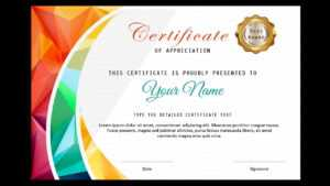How To Make A Certificate In Powerpoint/professional Certificate  Design/free Ppt in Powerpoint Award Certificate Template