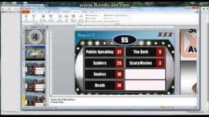 How To Make A Powerpoint Family Feud Template Game Tutorial in Family Feud Powerpoint Template Free Download