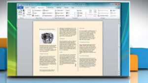 How To Make A Tri-Fold Brochure In Microsoft® Word with Free Template For Brochure Microsoft Office
