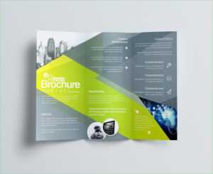 How To Make A Trifold Brochure In Powerpoint – Carlynstudio in Brochure Templates For Word 2007
