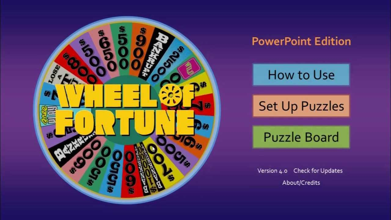 How To Make A Wheel Of Fortune Game On Powerpoint - Xtos Within Wheel Of Fortune Powerpoint Template