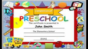 How To Make Award Certificates In Powerpoint 2010 inside Award Certificate Template Powerpoint