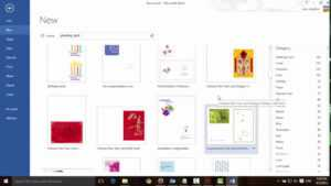 How To Make Greeting Cards With Microsoft Word with Birthday Card Template Microsoft Word
