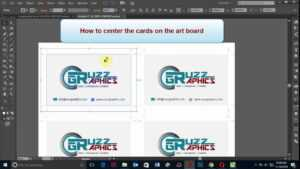 How To Print Double Sided Business Card In Adobe Illustrator throughout Double Sided Business Card Template Illustrator
