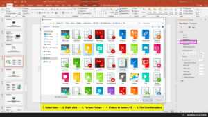 How To Replace Icon In Powerpoint Template – Warna Slides pertaining to Powerpoint Replace Template