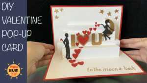 I Love You To The Moon And Back Diy Pop Up Card With Free Template Intended For I Love You Pop Up Card Template