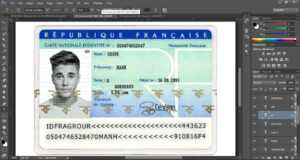 Id Card France within French Id Card Template