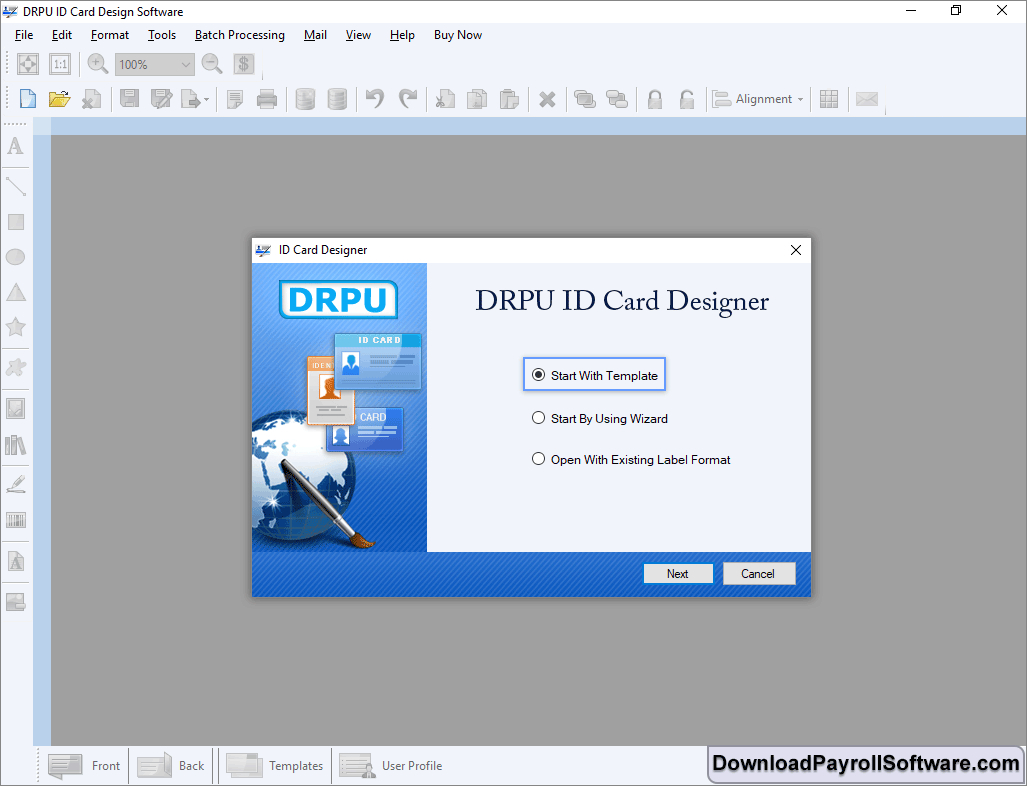 Id Card Maker Software Design Photo Student Faculty Identity Regarding Faculty Id Card Template