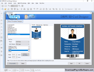 Id Card Maker Software Design Photo Student Faculty Identity within Faculty Id Card Template