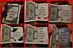 If My Love Was A Deck Of Cards…   Jessie Homemaker with 52 Things I Love About You Cards Template