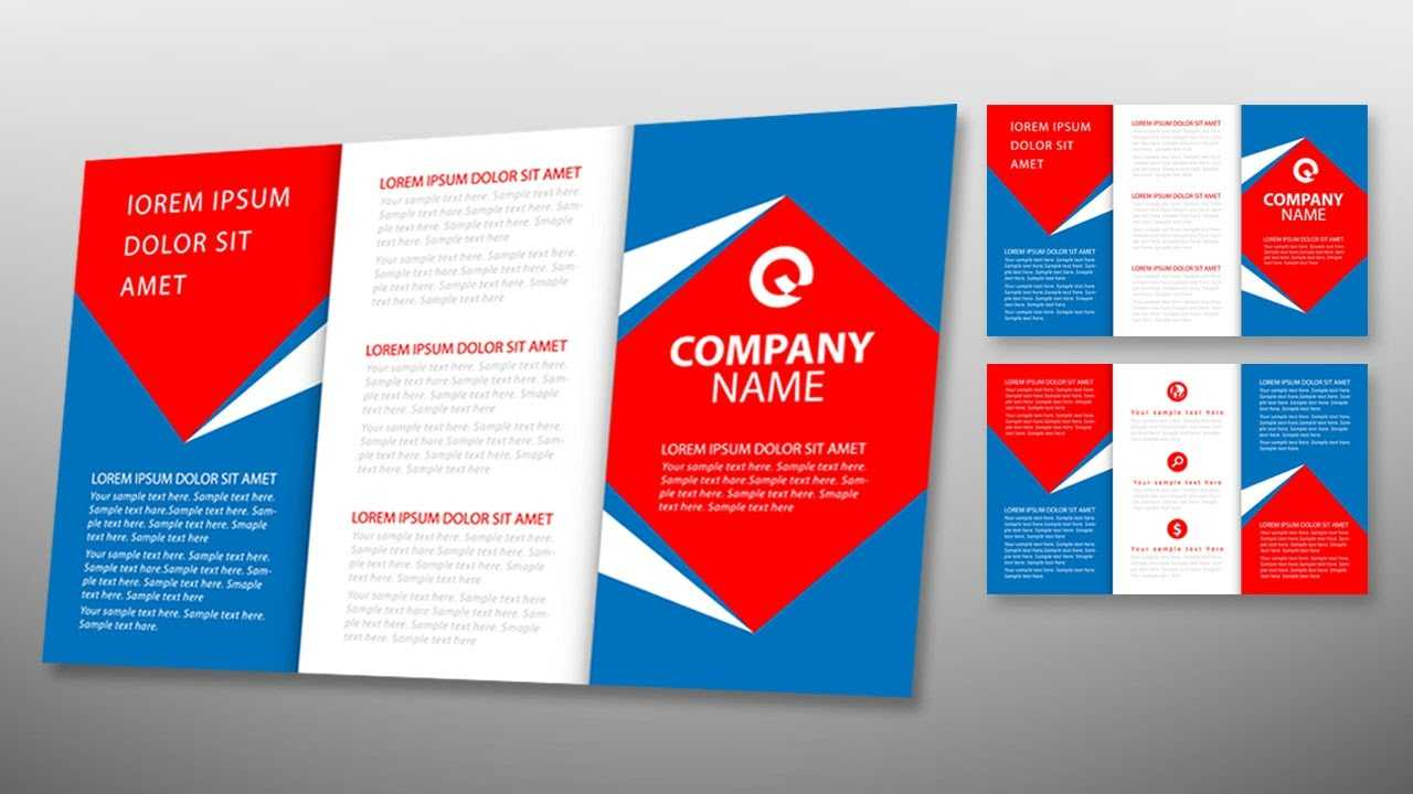 Illustrator Tutorial - Tri Fold Brochure Design Template Pertaining To Tri Fold Brochure Template Illustrator