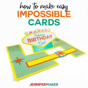 Impossible Card Templates: Super-Easy Pop-Up Cards for Free Printable Pop Up Card Templates