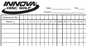 Innova Scorecard – Innova Disc Golf with regard to Golf Score Cards Template