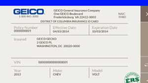 Insurance Card Template – Youtube pertaining to Car Insurance Card Template Free