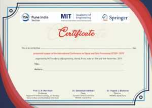 International Conference On Signal & Data Processing (Icsdp) pertaining to International Conference Certificate Templates