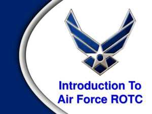 Introduction To Air Force Rotc – Ppt Download throughout Air Force Powerpoint Template