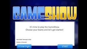 Introduction To The Powerpoint Gameshow Template for Quiz Show Template Powerpoint