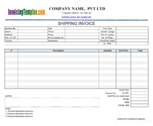Invoice Template With Credit Card Payment Option with Credit Card Bill Template