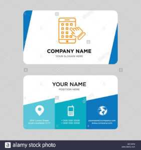 Iphone Business Card Design Template, Visiting For Your with regard to Iphone Business Card Template