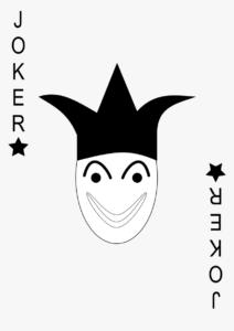 Joker Card Png, Transparent Png – Kindpng with Joker Card Template