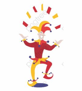 Joker Playing Card Clipart – Cartoon Playing Card Joker intended for Joker Card Template