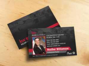 Keller Williams Business Card Template – Bc1861Bl-Kw throughout Keller Williams Business Card Templates