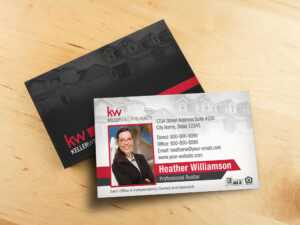 Keller Williams Business Card Template – Bc1861Wb-Kw throughout Keller Williams Business Card Templates