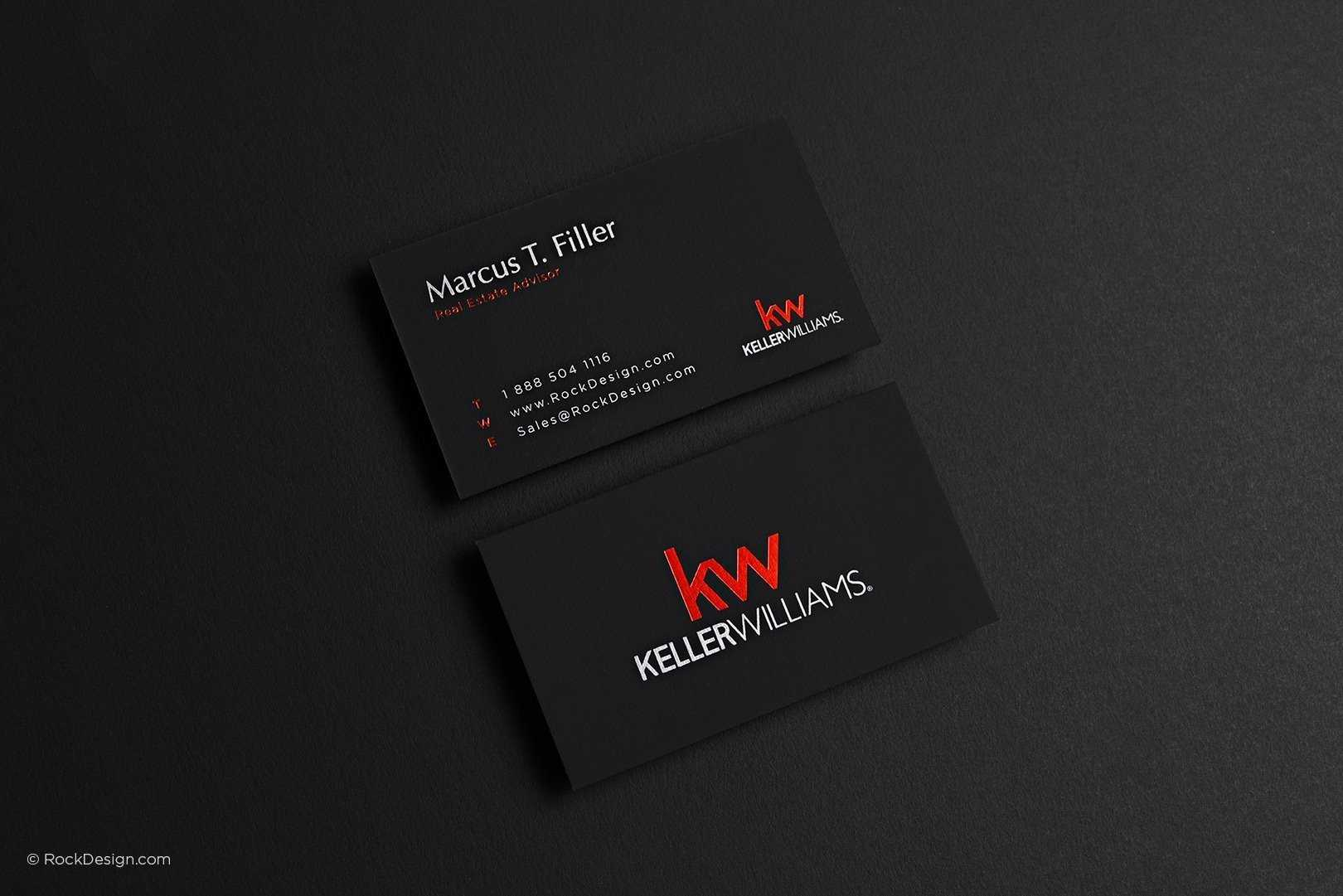 Keller Williams Business Card Throughout Keller Williams Business Card Templates