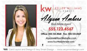 Keller Williams Realty Business Cards Templates For Kw Realtors 5D with regard to Keller Williams Business Card Templates