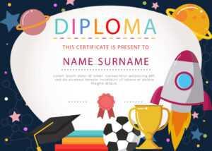 Kids Certificate Free Vector Art – (182 Free Downloads) pertaining to 5Th Grade Graduation Certificate Template
