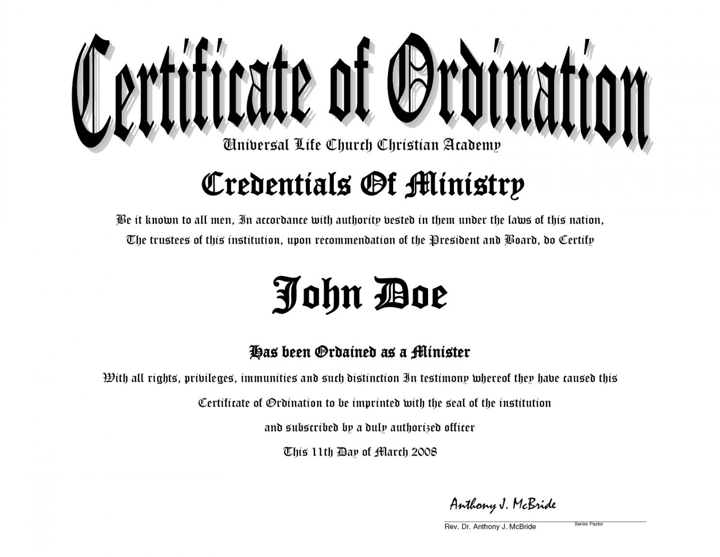Kleurplaten: Pastoral License Certificate Template Within Certificate Of License Template