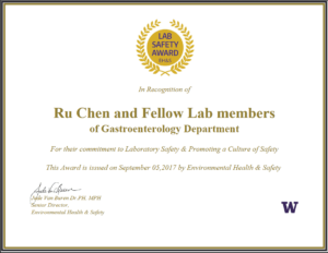 Laboratory Safety | Ehs inside Safety Recognition Certificate Template