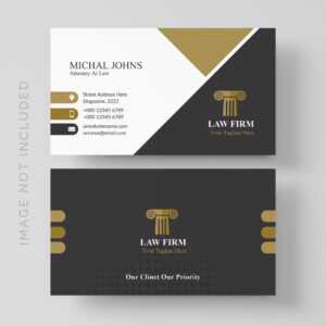Lawyer Business Card Free Vector Art – (7 Free Downloads) in Lawyer Business Cards Templates