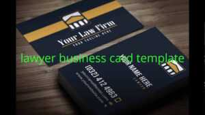 Lawyer Business Card Template within Lawyer Business Cards Templates