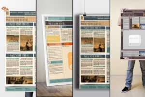 Le Poster Scientifique A0 (Powerpoint Templates) On Behance within Powerpoint Poster Template A0