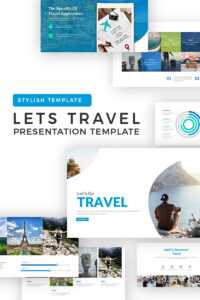 Lets Travel Powerpoint Template in Tourism Powerpoint Template