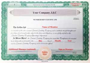 Llc Membership Certificates Templates – Tomope.zaribanks.co regarding Llc Membership Certificate Template Word